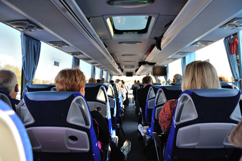 Charter Transportation For Out Of Town Trips